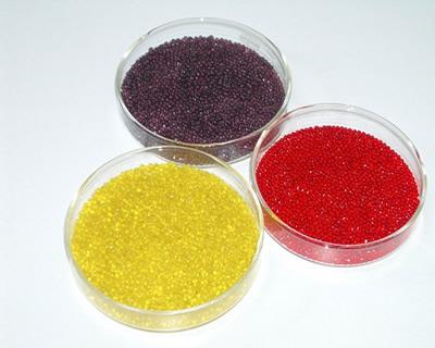 彩色玻璃微珠案例